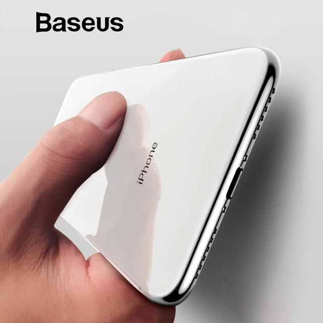 Baseus For iPhone X Case, Ultra Thin Soft Silicone Case For iPhone X Coque Anti Knock Transparent Phone Accessories Back Funda