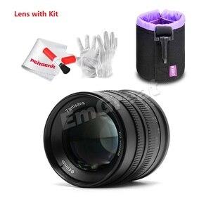 Image 2 - 7artisans 55mm F1.4 objectif Portrait à grande ouverture pour Sony E Mount pour Fuji M4/3 Mount EOS M A6300 A6500 X A1 G5 M5