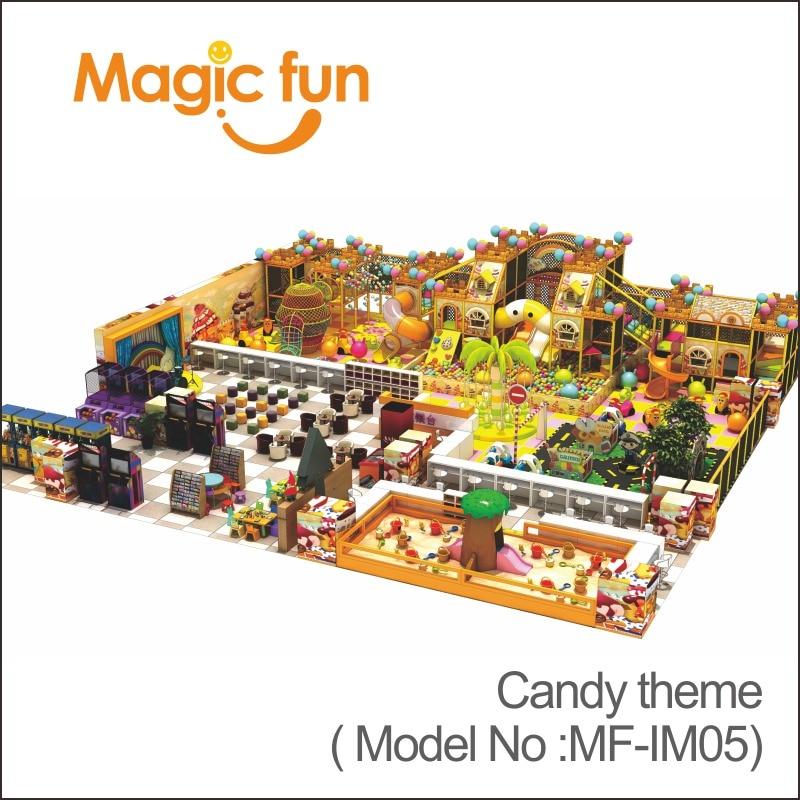 MAGIC FUN Commercial Amusement park equipment children indoor softplay playground
