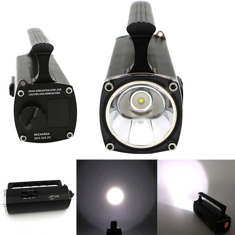 Swimming Flashlight Underwater 100 Meter 600Lm L2 T6 LED Diving Torch Light Hand Lamp 3 Modes