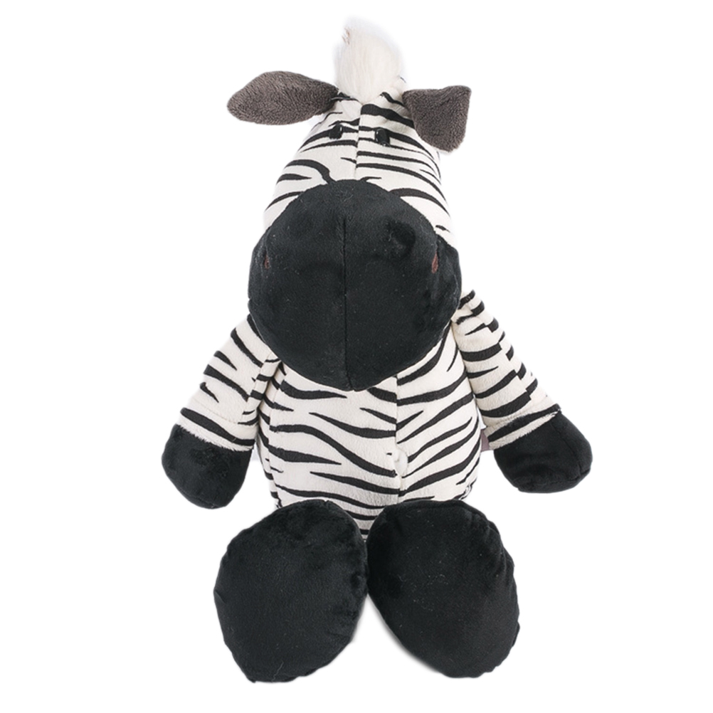 Plush Stuffed Animal 25cm Zebra Animal Dolls Cartoon Plush Toys Children Soft PP Cotton Animal Doll Kids Birthday Christmas Gift