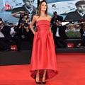 Selena Gomez Cheap Red Carpet Dresses Off The Shoulder Simple Celebrity Dresses Evening Dress 2016 Party Robe De Soiree Courte