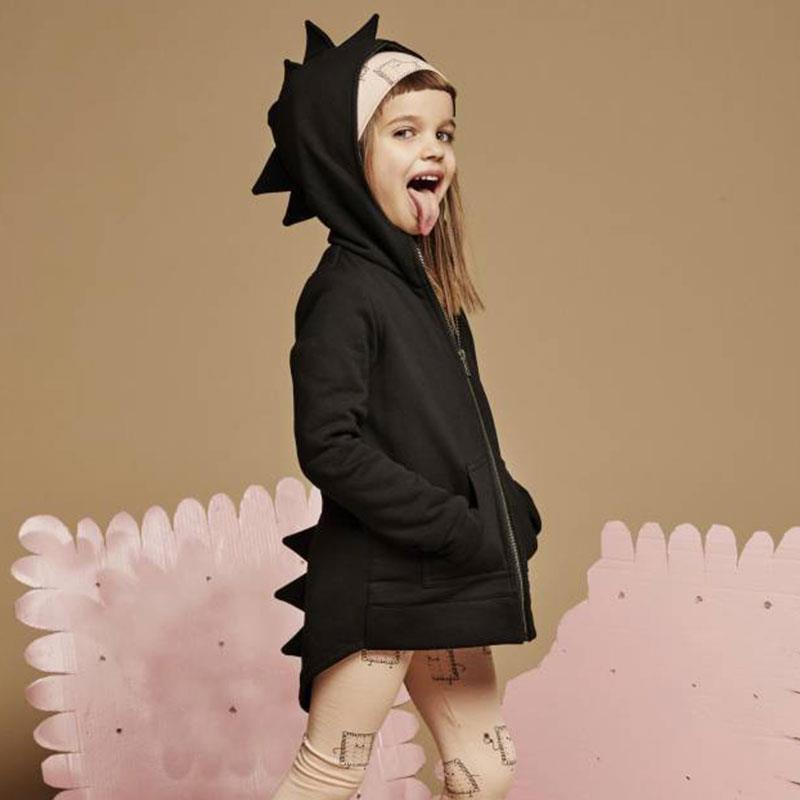 Ephex jongens hoodies punk baby kid sweatshirt cartoon dinosaurus - Babykleding - Foto 2