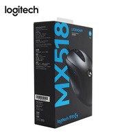 Logitech Original MX518 Classic Gaming Mouse LENDARY Mouse Reborn with 100 16000DPI HERO Sensor for All Mouse Gamer