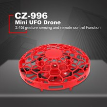CF-966 UFO Flying Ball Toys Hand-Controlled Sensor Remote Control Helicopter Toy Interactive Drone Indoor Flyer For Kids