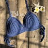 Mujer Crochet Bikini Top 13