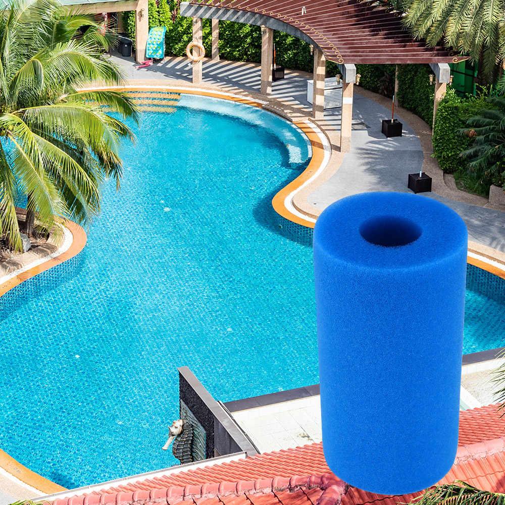 Swimming Pool Accessories Filter Foam Reusable Washable Sponge Foam ...