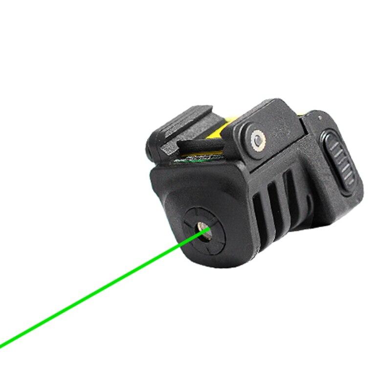 Laserspeed justerbar självförsvar taktisk mini skena monterad - Jakt - Foto 1