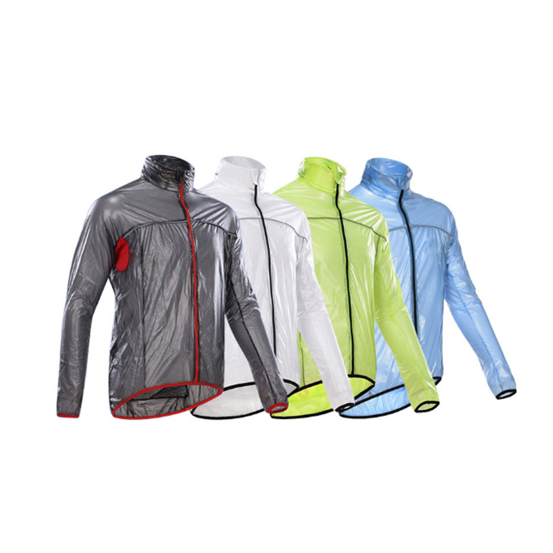 Cycling Men Motorcycle Bike Waterproof Wind Rain Coat Jacket Outdoor Raincoat