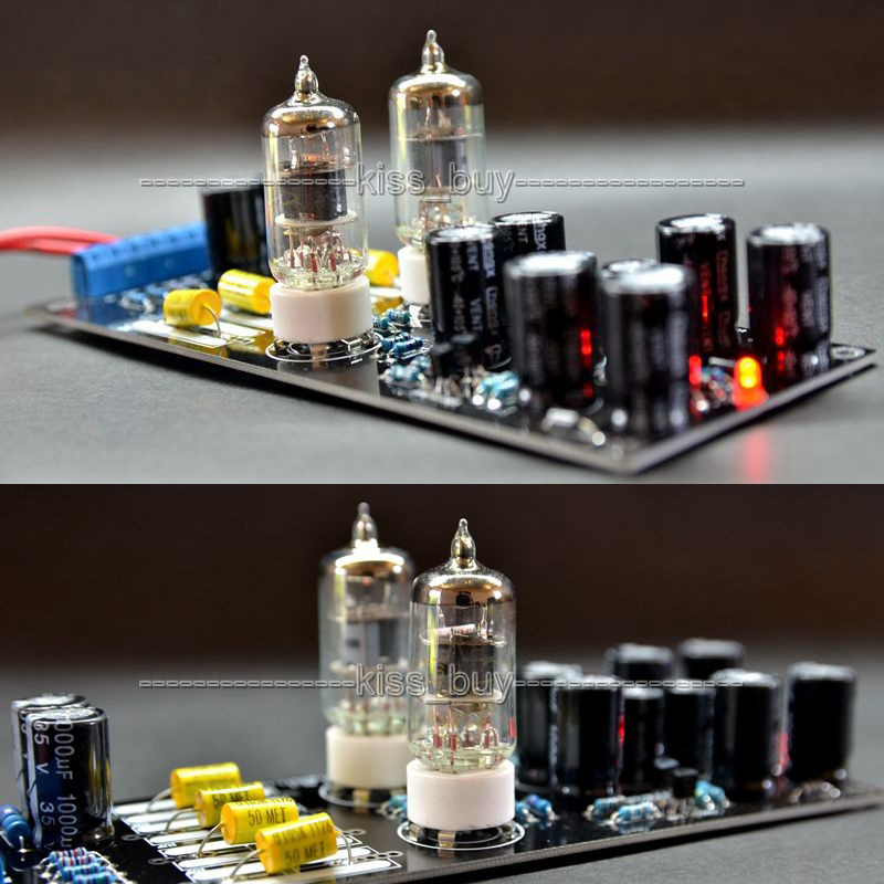 AC 12V Musical Fidelity 6j1 6AK5 Tube Pre-amp Pre Amplifier Board FOR VCD, CD, DVD Digital Audio Power Amplifier