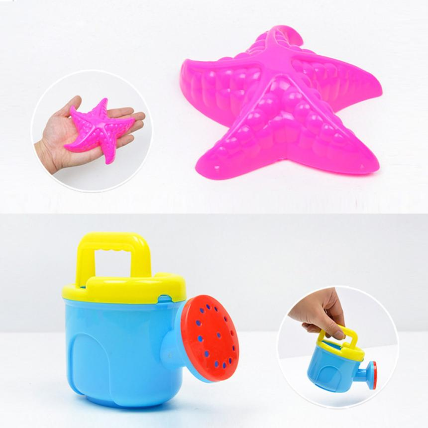 shaunyging # 4003 10 Pcs Baby Kids Beach Toys Swimming Wash Play Cartoon Colorful Cute Toys