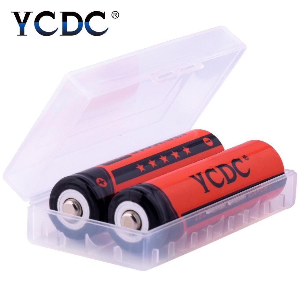 Gros respectueux de l'environnement 2 pc 4 pc 8 pc 10 pcs 20 pcs 18650 Batterie 3.7 v 3000 mah Li-ion pile Rechargeable Pour Pointeur Torche