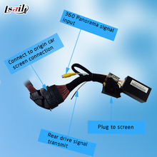 Special for Ford CAN Module Connector for Rear View Camera and 360 Bird View Cameras with Parking Guide Line