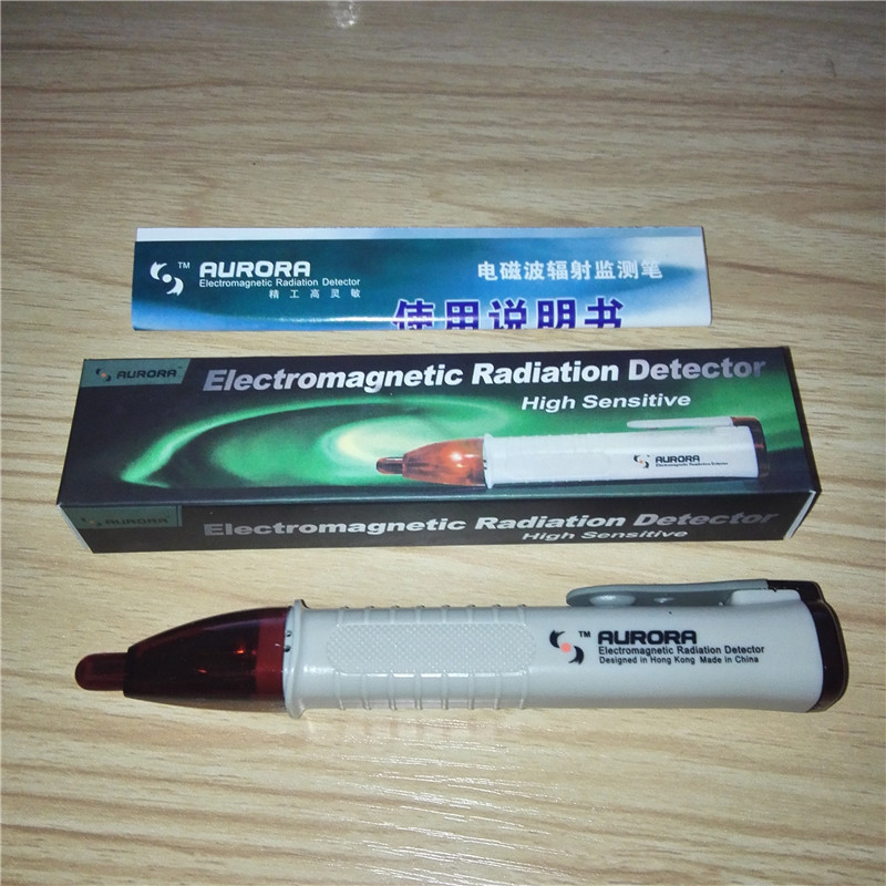 Pen-shape Mini Style Noncontact High Sensitive Electromagnetic Radiation Detector Pen EMF Tester yoursfs   french high grade pen shape