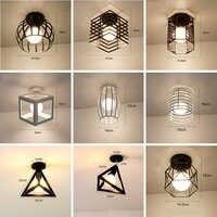 Led-deckenleuchten Moderne Plafondlamp Hause Beleuchtung Wohnzimmer Vintage Käfig Decke Lampe Lampara Techo Suspension Leuchte E27