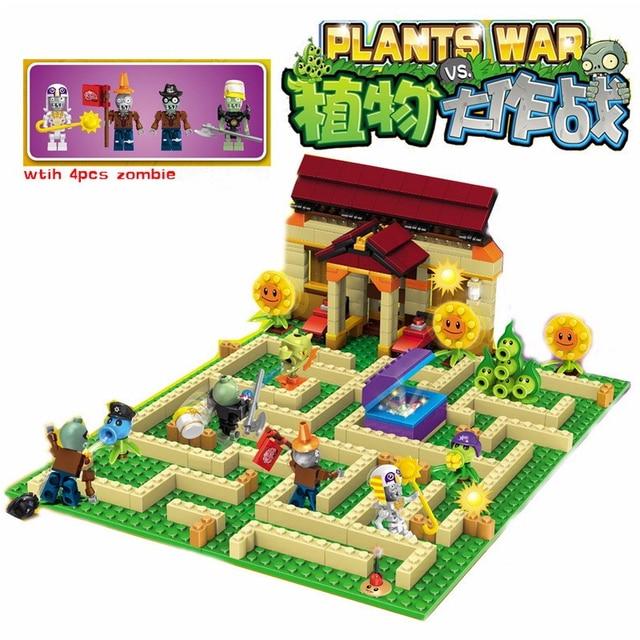 Aliexpress.com: Comprar Plantas vs zombies jardín laberinto golpeó ...
