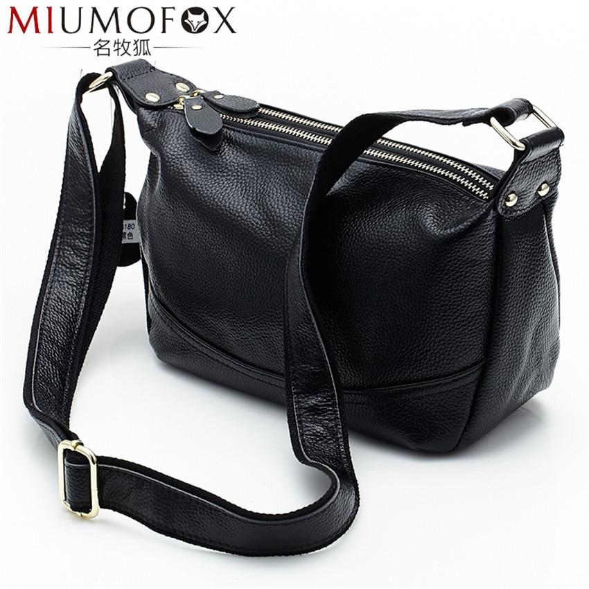Women Messenger Bag Leather Female Shoulder Bag Luxury Woman Handbags Strap Bags Versatile Large Capacity Crossbody Bag W154