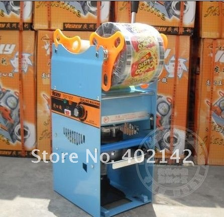ФОТО Manual Cup Sealing Machine for food and drink package,Manual cup sealer,bubble tea cup sealing machine