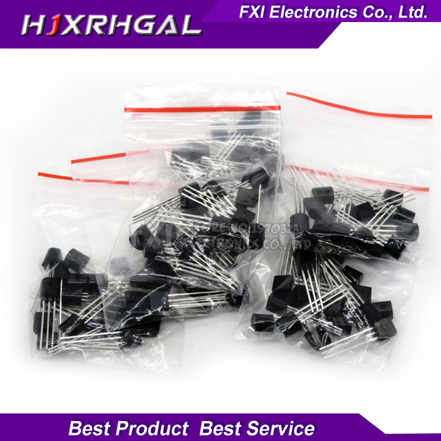 20PCSX6values=120pcs 78L05 78L06 78L08 78L09 78L12 78L15 TO-92 TO92 Transistor package Assorted Kit new and