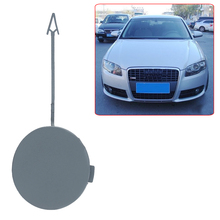 Автомобиль-stylingCar буксировочный крюк крышка переднего бампера буксировочный крюк повязка на глаза, маска для сна Кепки авто-Стайлинг для Audi A4 B7 2005-2008 крышка багажника, лидер продаж