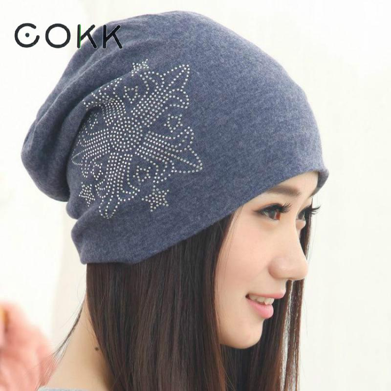 COKK Casual Beanies Winter Hats For Women Fashion Knitted Beanie Winter Hat Rhinestone Arrow Bonnet Turban Hat Cap Female Gorros аптечка апполо для оказания первой помощи работникам