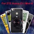 Para o caso zte nubia z11 mini s, joe marca pintura bonito duro pc celular de volta caso capa para o zte nubia z11 mini s