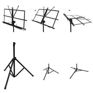 Image 5 - Faltbare Musik Blatt Stativ Aluminium Legierung Musik Stehen Halter Höhe Einstellbar mit Tragen Tasche für Musical Instrument