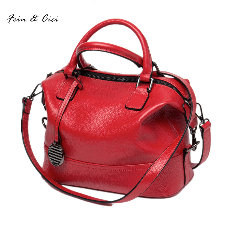 women messenger bag crossbody bags genuine cow leather rivets handbag totes shoulder bag red black grey purple color 2017 new women messenger bags 2015 100% crossbody women bag