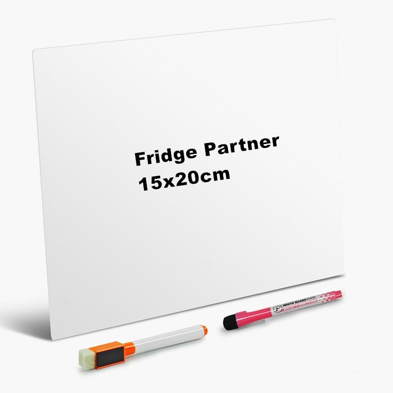 White board Removable Writing board message board Removable Whiteboard Memo Pad Magnetic Fridge Board