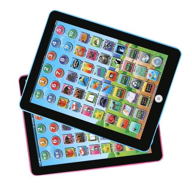 US $7.87 17% OFF 1 Pc Plastic Electric Tablet Touch Screen Kids Development  Educational Story Telling Musical Toy Gift Random Color!!!-in Learning ...