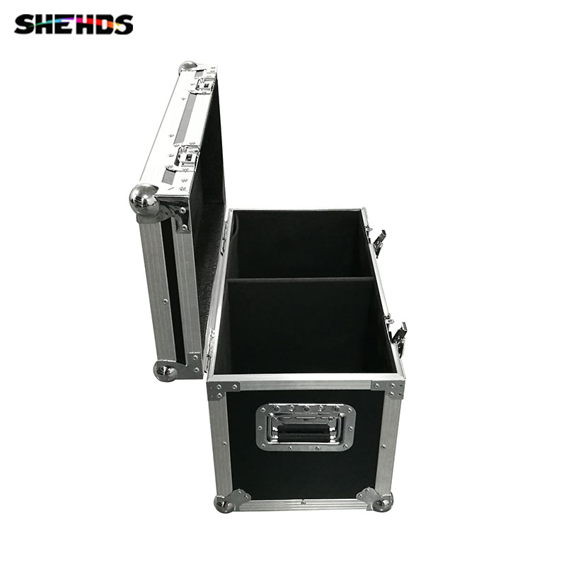 Flight Case with 2 pieces/lot  HOT Eyourlife LED Inno Pocket Spot Mini Moving Head Light 30W DMX Dj 8 Gobos Effect Stage Lights багажники inno