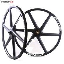 29er mountain bike Carbon 6 Spoke For MTB Wheelset Ruedas XC spokes bicycle disc brake Wheels