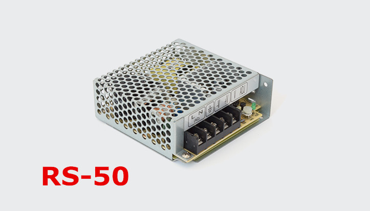 1pc  RS-50-5  50w 5v 10A Switching Mode Power 50 5