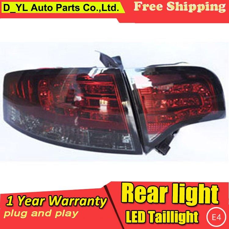 Car Styling Tail Lamp for Audi A4 B7 LED Tail Light 2005 2008 New Altis LED