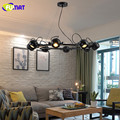 Loft Industrial Vintage Pendant Light American Style Creative Living Room Dinning Room Bar Clothes Store Led Ceiling Lamp