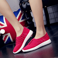 Women Trainers Spring Autumn New leisure fashion crime apartment women coconut net cloth slip-on the balance Casual Ladies Shoes