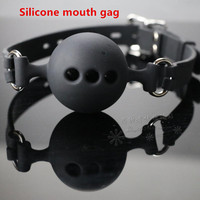 High quality Silicone mouth gag ball open mouth gag erotic toys bdsm bondage restraint adult sex toys for couples sex products