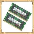 Памяти ноутбука для Samsung 2 ГБ 2 x 1 ГБ 533 мГц PC2-4200 DDR2 ноутбук оперативной памяти 533 4200 S 1 г 200-контактный SO-DIMM