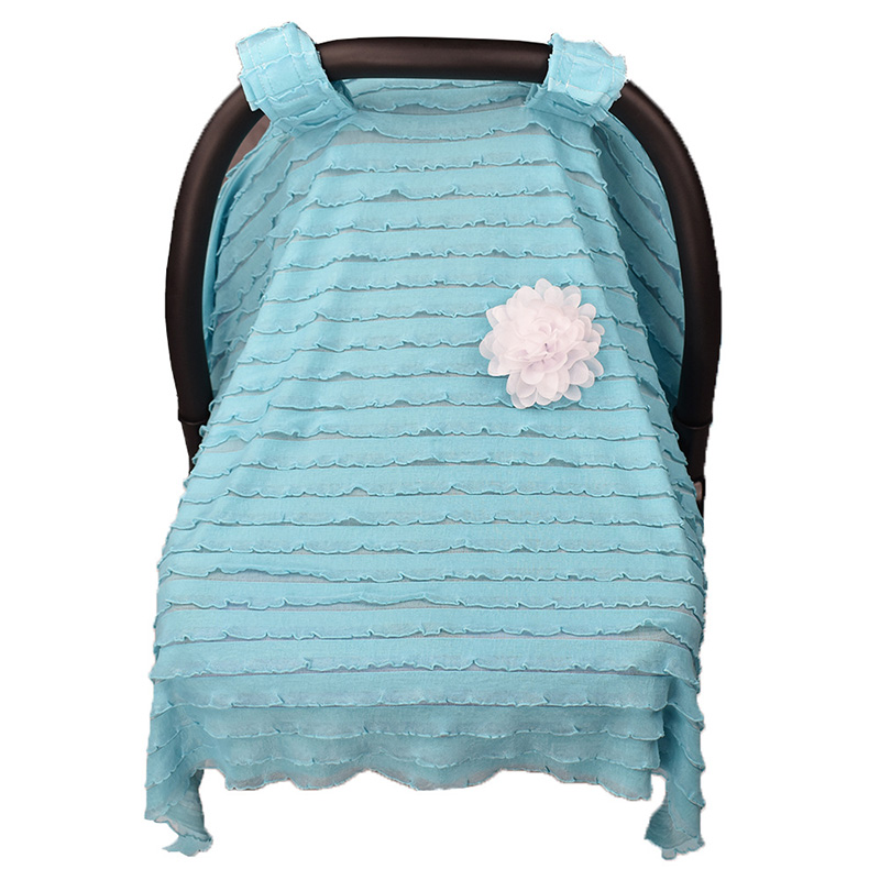 Baby Stroller Accessories Muslin Blanket Car Seat Cover Sun Shade Canopy Dustproof Blanket Prams Cover Infantial Nursing Cover in Strollers Accessories from Mother Kids