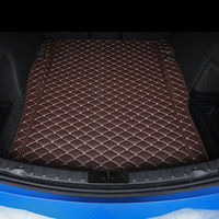 lsrtw2017 wearable fiber leather car trunk mat rug for bmw 3 series F30 F34 F31 e90 e91 316 318 320 330 335 323 340 2004 2018