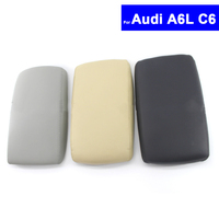 Car Center Console Armrest Arm Rest Cover Lid For Audi A6L C6 2005 2006 2007 2008
