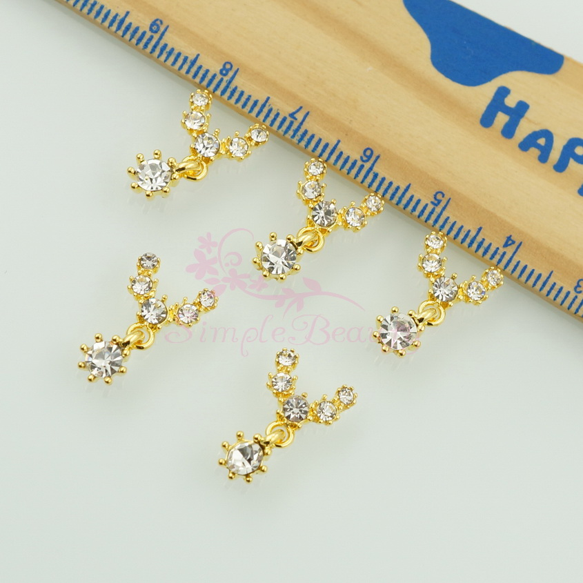 Aliexpress.com : Buy 20pcs/lot Dangle Necklace Style Gold Tone Metal ...
