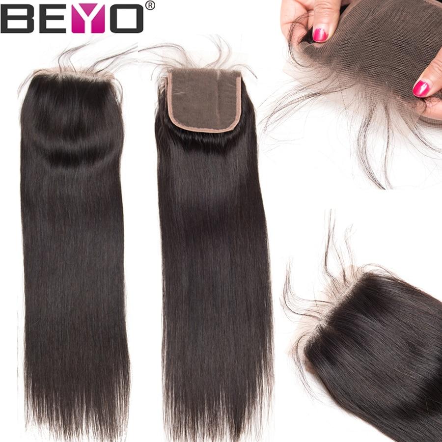 Beyo 4 x 4 Մարդու մազերի ուղիղ փակումը Beyo 4 - Մարդու մազերը (սև) - Լուսանկար 2