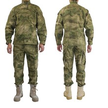 Outdoor Army Military Uniform Camofluage Tactical Atacs A-tacs FG Camo Durable Shirt & Pants Army Combat Coat and Trousers(China)