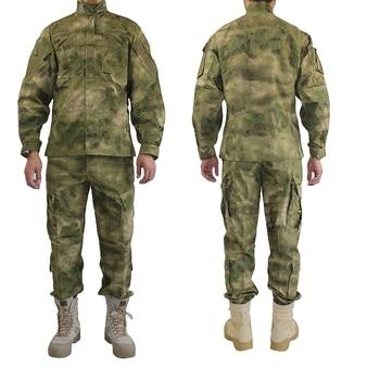 ec310228de8 Outdoor Army Military Uniform Camofluage Tactical Atacs A-tacs FG Camo  Durable Shirt   Pants Army Combat Coat and Trousers
