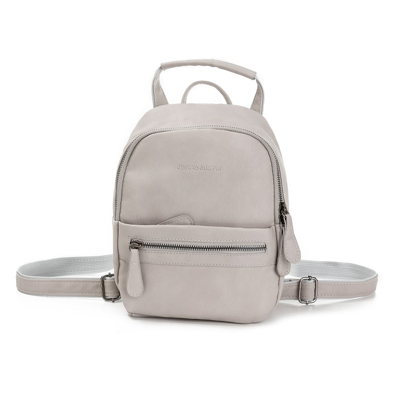 Miyahouse Women Backpack New Fashion PU Leather Ladies Feminine Backpack  Candy Color Casual Student Mini Backpack-in Backpacks from Luggage   Bags  on ... 73ea2feaf0