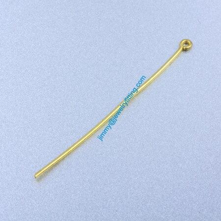 Ювелирных Изделий выводы Глаз Медными Штырьками Pins; Шарф Pins выводы 0.9*50 мм