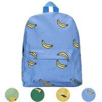 Chất lượng cao Màu Canvas Rucksack Backpack Trường Sách chuyến đi túi phong cách tươi cho cô gái phụ n