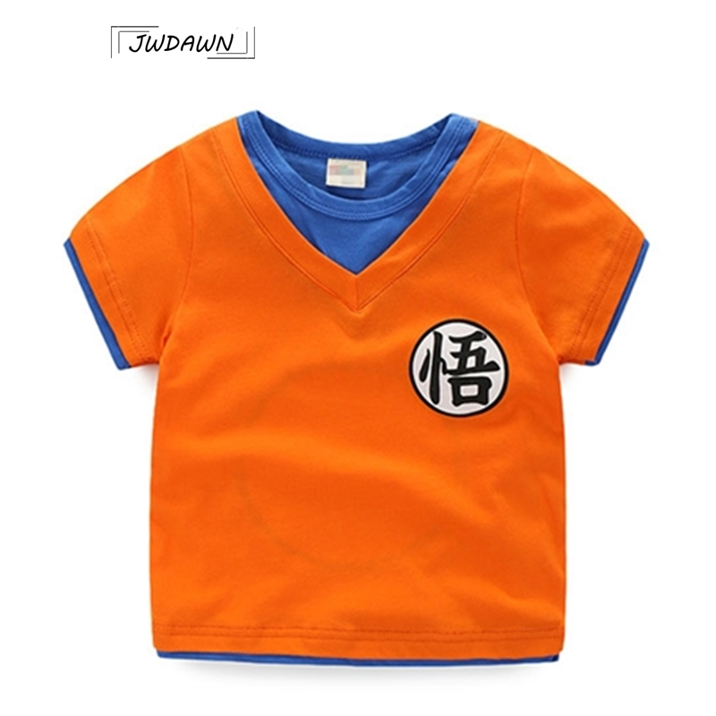 Goku Cotton T-shirts Kids Clothes Dragon Ball Comfortable Funny Clothes T-shirts For Kids Short Sleeve Fashion Kids ClothesGoku Cotton T-shirts Kids Clothes Dragon Ball Comfortable Funny Clothes T-shirts For Kids Short Sleeve Fashion Kids Clothes