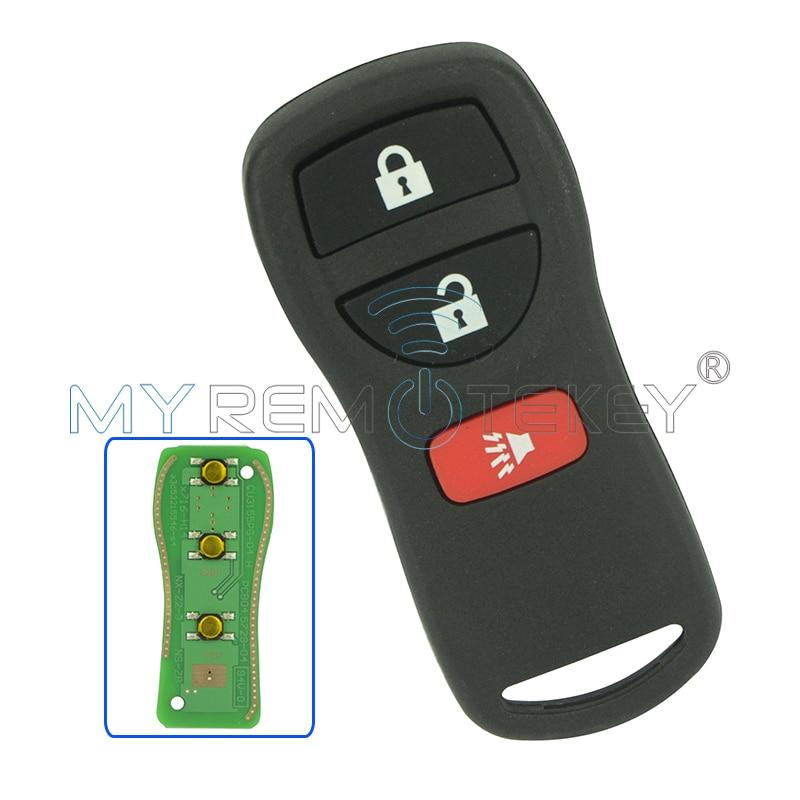 Daljinski ključ Fob KBRASTU15 3 tipka 315Mhz za Nissan Armada Frontier Murano Pathfinder Quest Titan Xterra 2005 2006 2007 remtekey